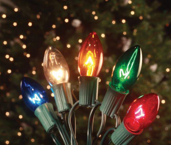 C9 Transparent Bulbs