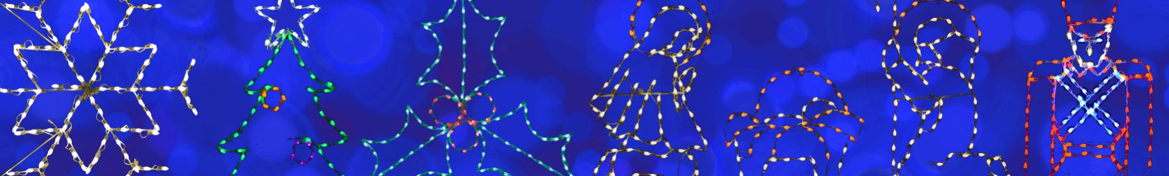 LED C7 Commercial Christmas Displays