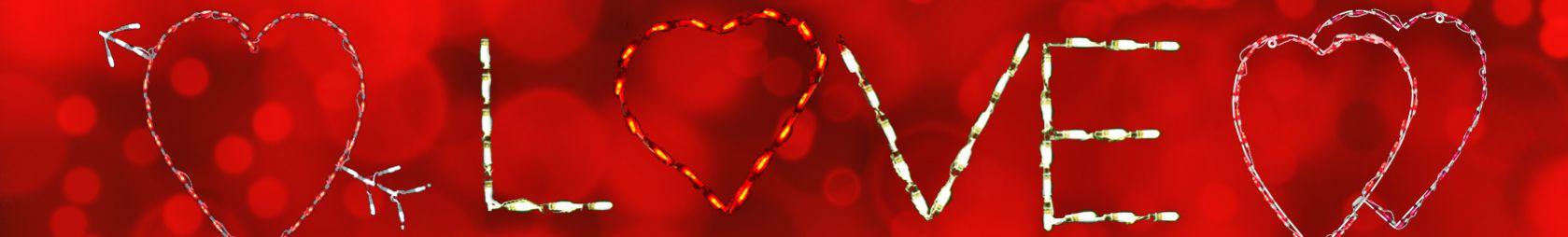 LED Valentine's Day Displays