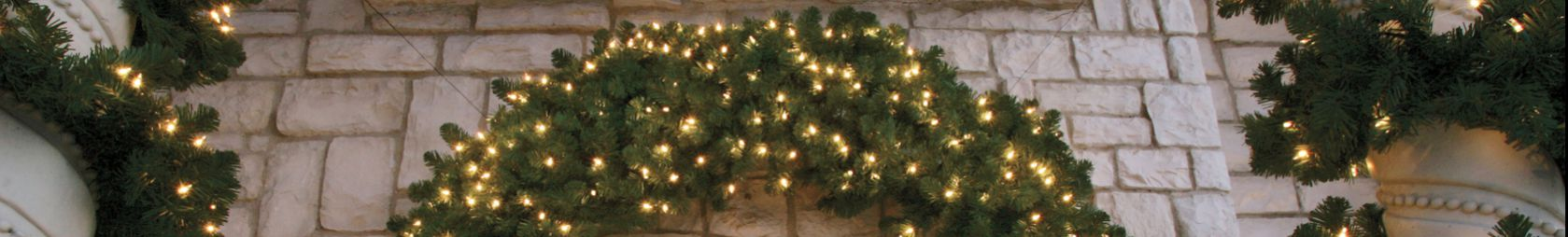 LED Wreaths (Concave Bulbs)