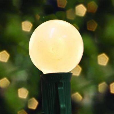 G40 Pearl White Bulbs - G40PW