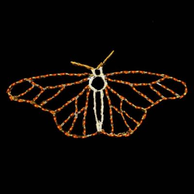 LED Butterfly Monarch