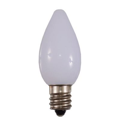 LED C7 Bulbs Opaque White