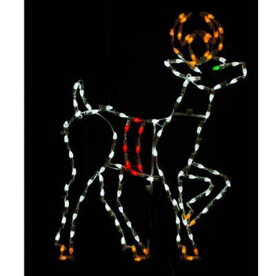 LED C7 Standing Reindeer