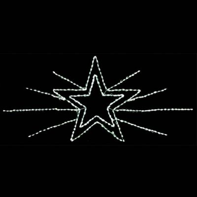 LED Star Spray Display Commercial 120