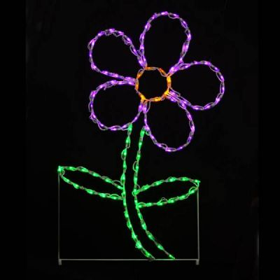 LED Daisy Purple