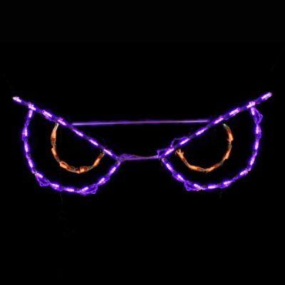 LED Spooky Eyes Orange