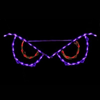 LED Spooky Eyes Red