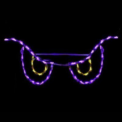 LED Spooky Eyes Yellow