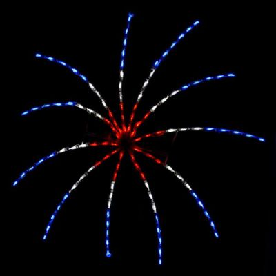 Red White and Blue Firecracker Large