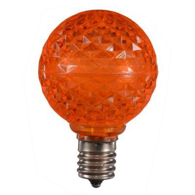 LED G50 Bulb - Orange
