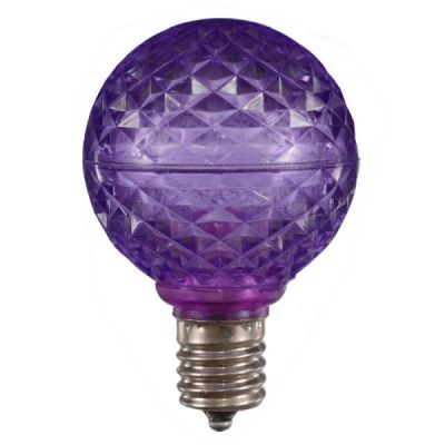 LED G50 Bulb - Purple