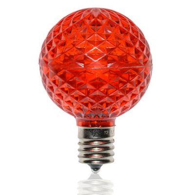 LED G50 Bulb (Red)