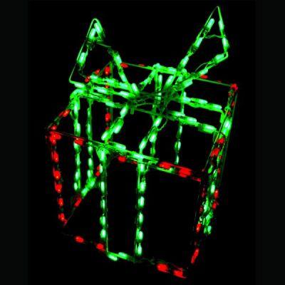 LED Gift box 3-D