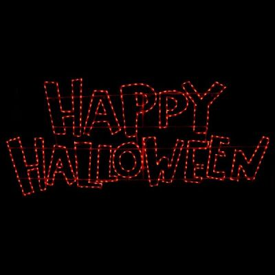 LED Happy Halloween