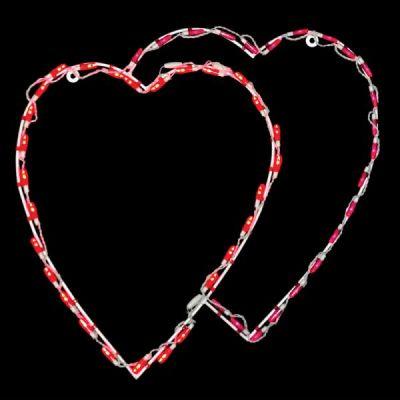 LED Double Heart