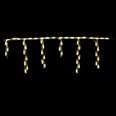 LED Steel Icicle Freestyle (Warm White)