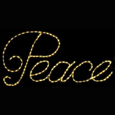 LED Peace (Warm White)