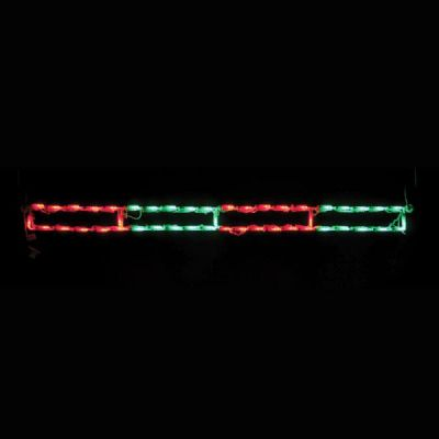 LED Peppermint Stick (Red/Green)