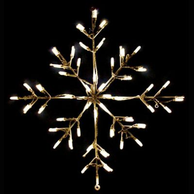LED Snowflake Warm White
