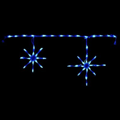 LED-SFL44IB - LED Snowflake Linkable (Ice Blue)