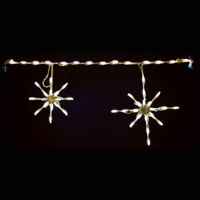LED Snowflake (Warm White)