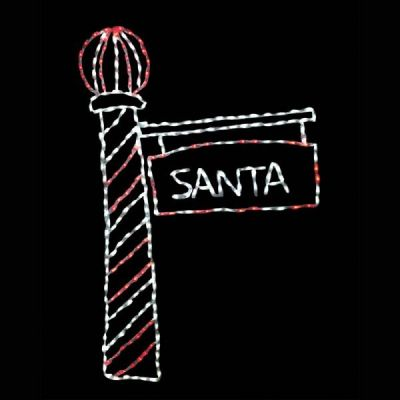 LED-SLP72 - LED Santa's Light Pole