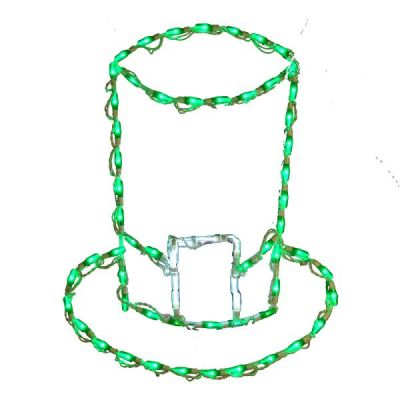 LED St Patricks Hat Green