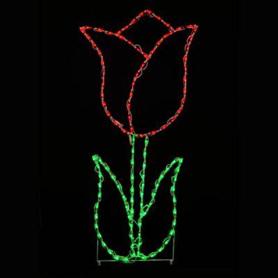 LED Tulip Red