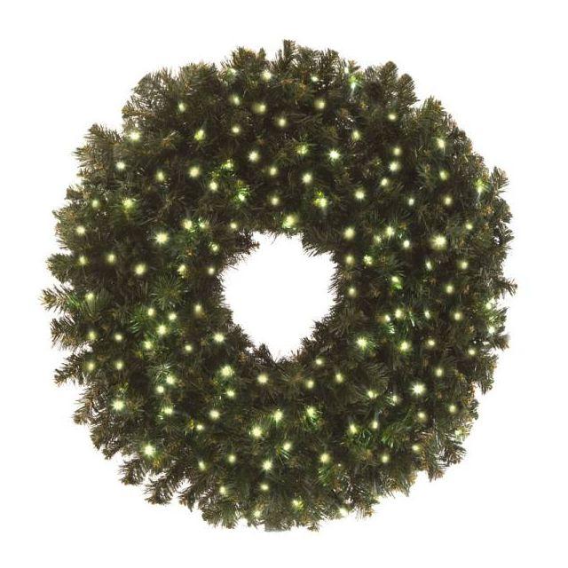 "LED 48"" Wreath Concave (Warm White"