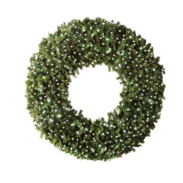 "LED 60"" Wreath Concave (Warm White"