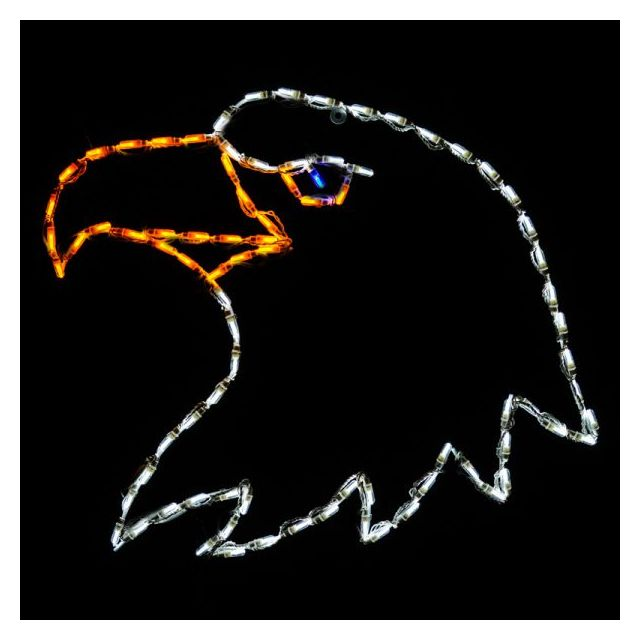 LED Eagle's Head Whit