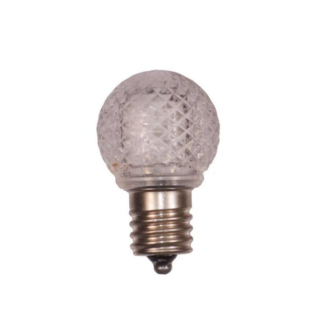 G32 Warm White LED Bulbs