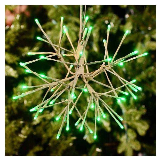 "LED 12"" Light Burst - Green"