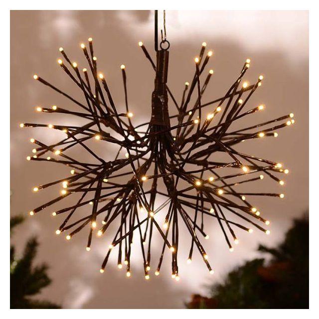 """24"""" Warm White LED Light Burst"""