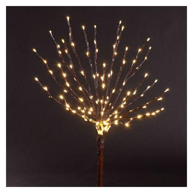 LED Light Burst - Brown Wire - Warm White Lights