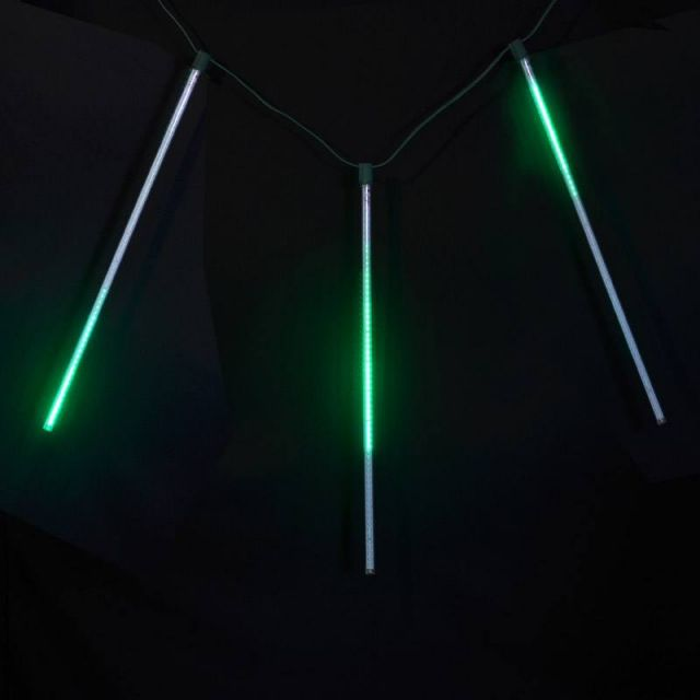 LED Meteor Light - 60CM Green