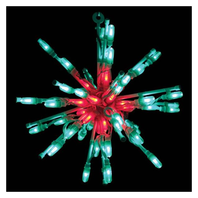 "LED 12"" Starburst (Red/Green"
