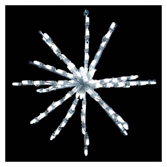 24 inch white starburst LED