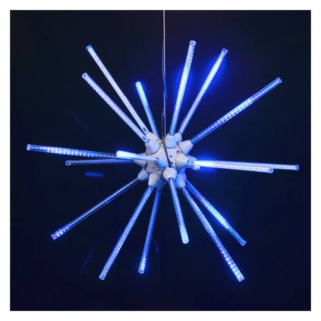 "LED 24"" Animated Starburst Blu"