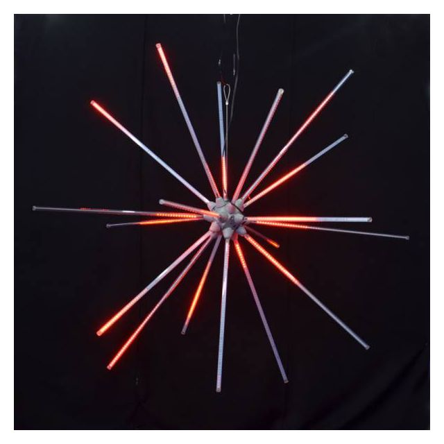 "LED 48"" Animated Starburst Re"
