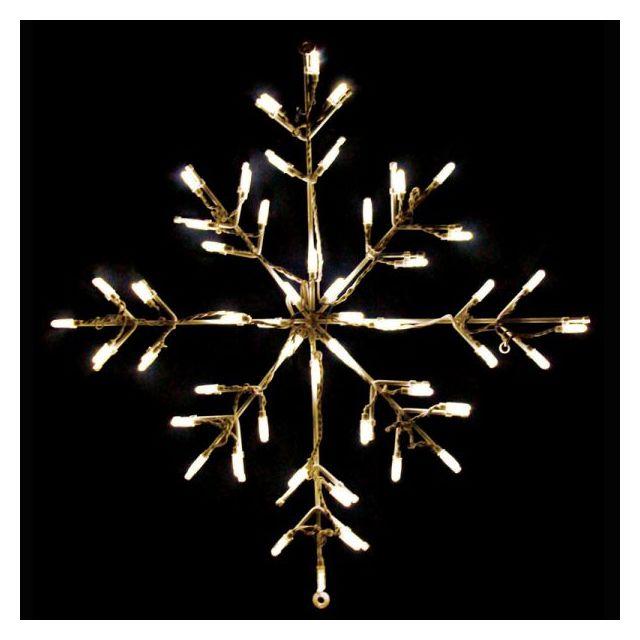 LED Snowflake Warm Whit