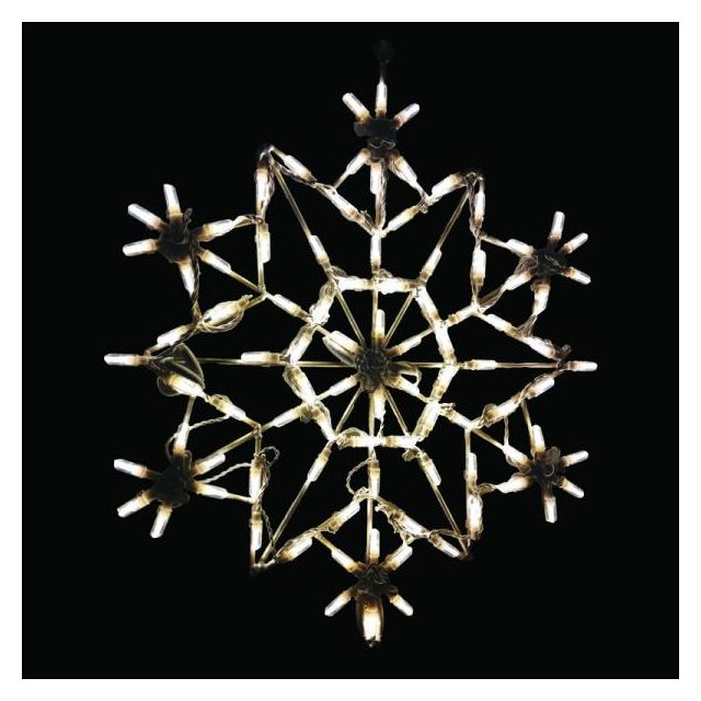 LED Snowflake Warm White