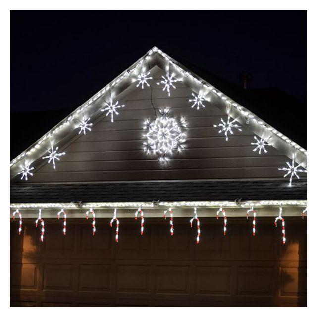 LED Snowflake Linkable (White