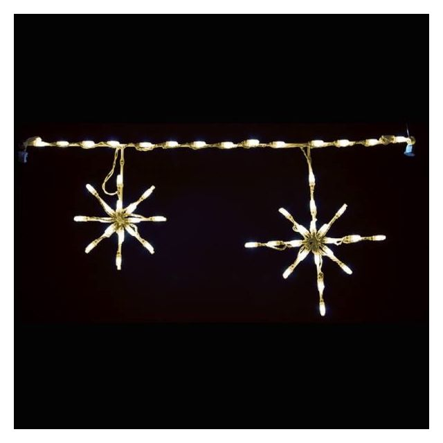 LED Snowflake (Warm White