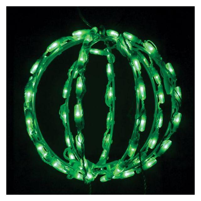 """LED Sphere 12"""" Green"""
