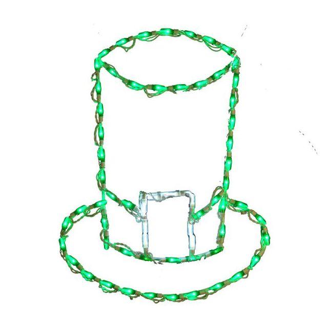 LED St Patricks Hat Green