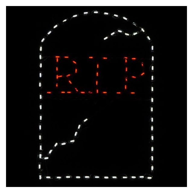 LED RIP Tombston