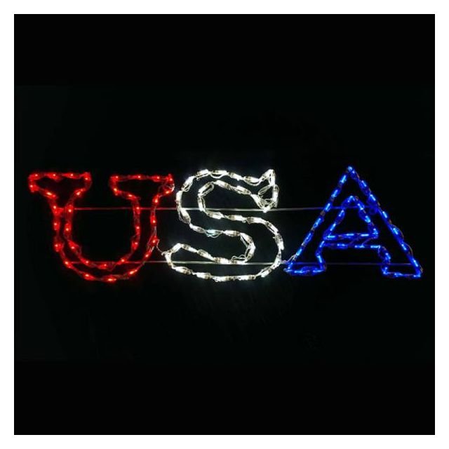 LED USA Sign RW