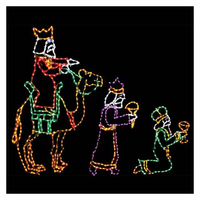 LED Wisemen Set